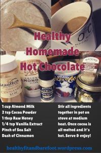 1 cup Almond Milk2 tsp Cocoa Powder1