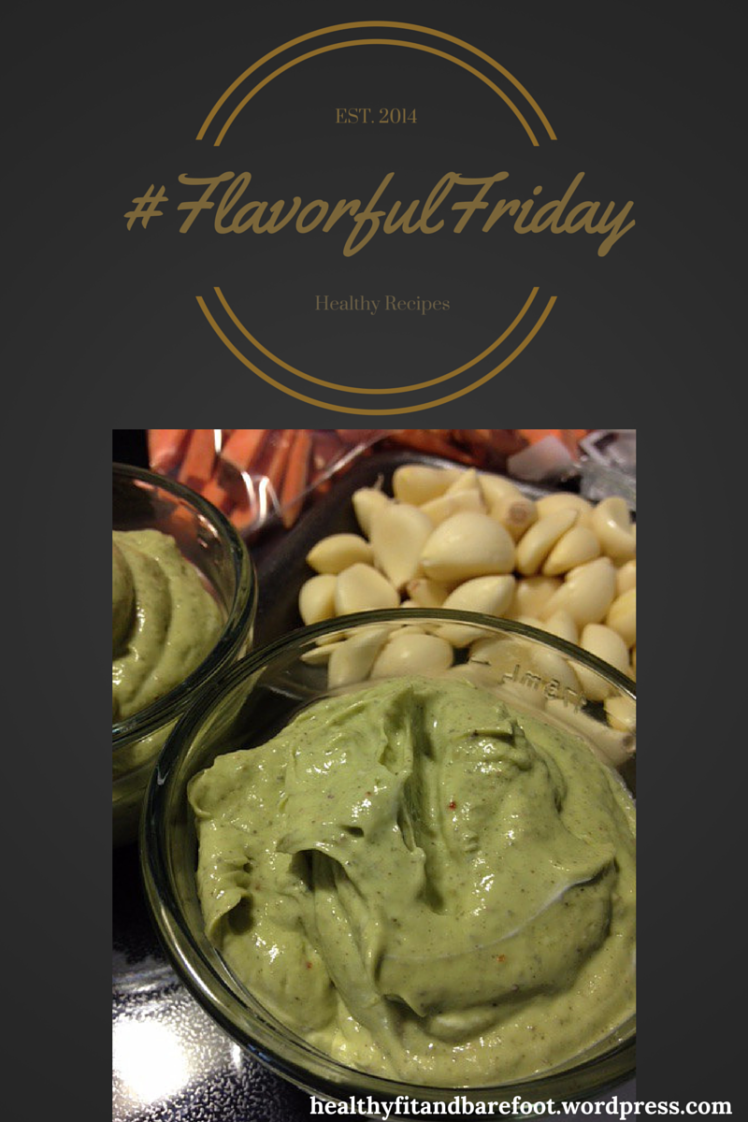 #FlavorfulFriday - Garlic Avocado Aioli