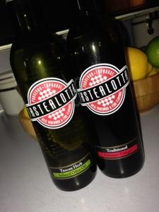 Tuscan Herb Olive Oil and Dark Balsamic Vinegar