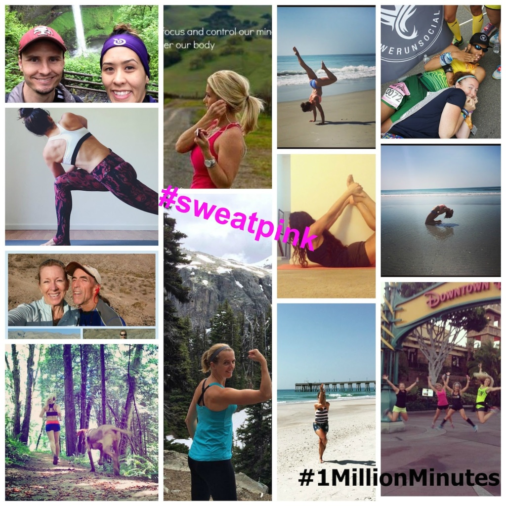 SweatPink #1MillionMinutes Challenge with Healthy, Fit & Barefoot!