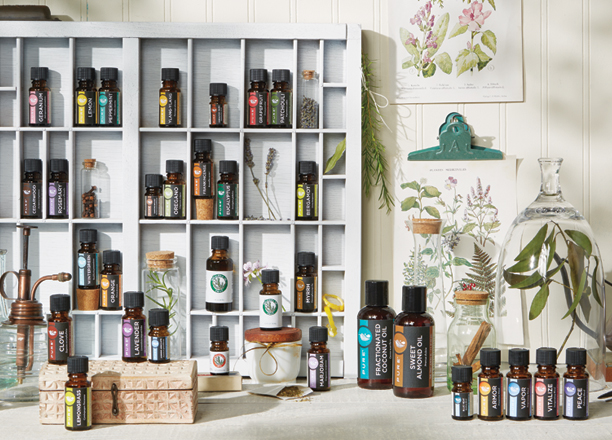 Essential Oils from Healthy, Fit & Barefoot!