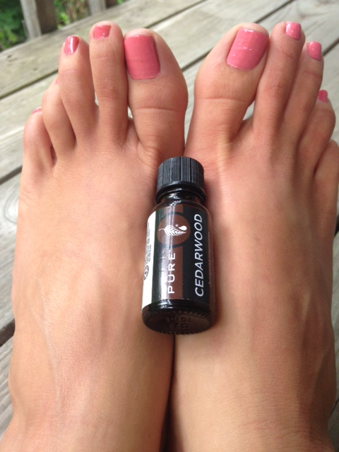 Cedarwood Essential Oil | Healthy, Fit & Barefoot!