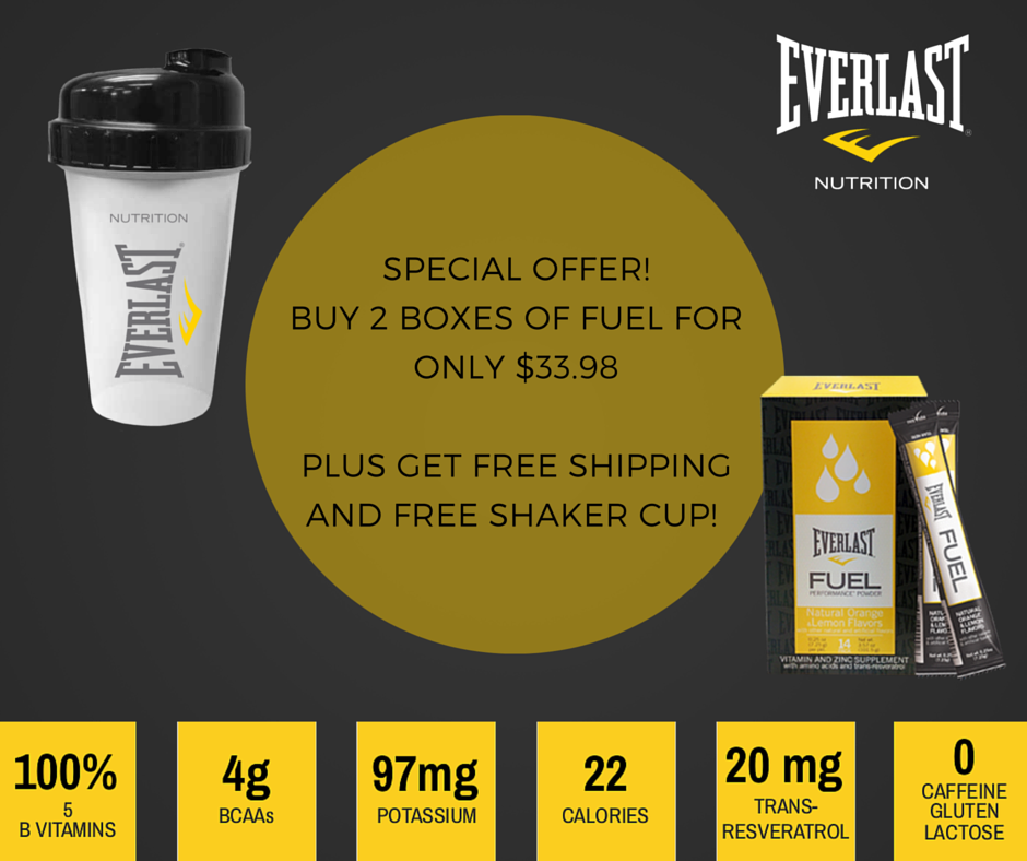 Everlast Fuel Promo