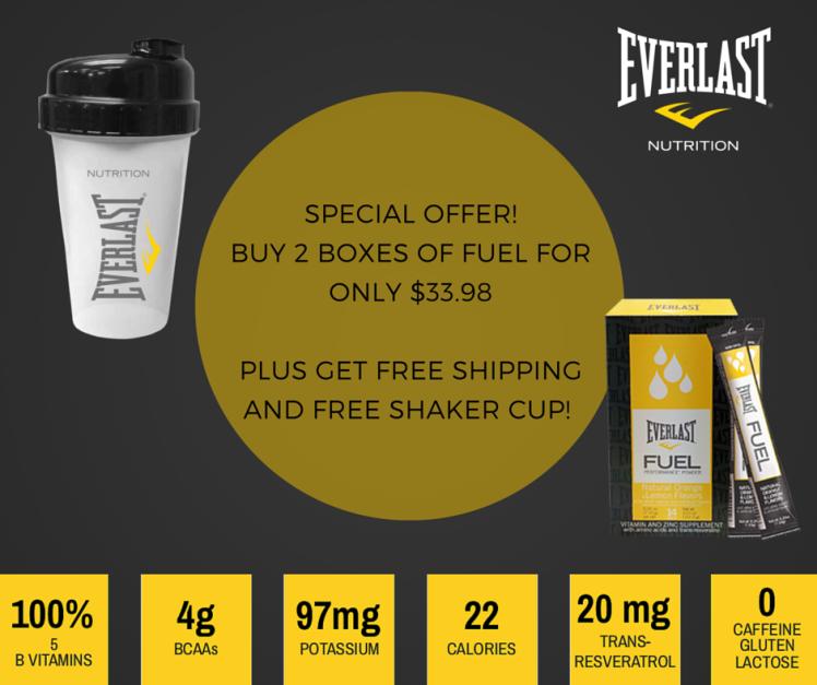 Everlast Fuel Promo