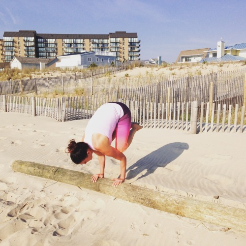 Crow Pose | Healthy Fit and Barefoot!