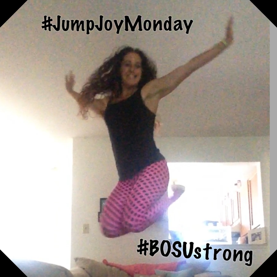 #jumpjoymonday - #BOSUstrong Challenge