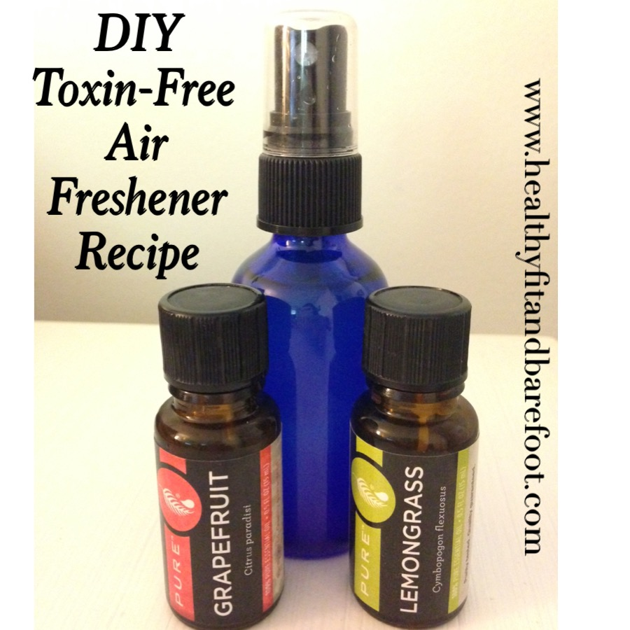 #TuesdayTip - DIY Toxin-Free Air Freshener from Healthy, Fit & Barefoot!
