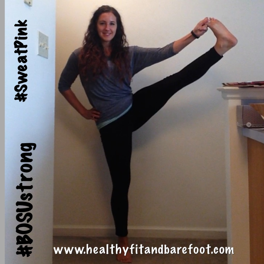 #Motivation Monday - It's all about that Balance - No Falling! | Healthy, Fit and Barefoot!