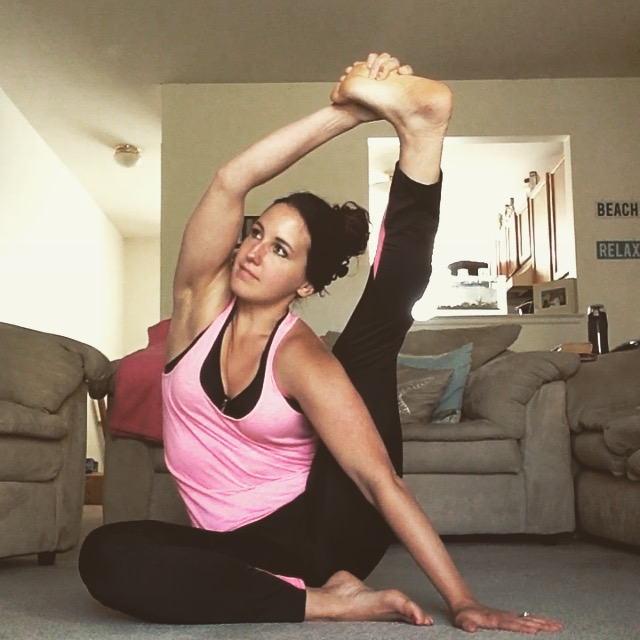 Compass Pose | Healthy, Fit & Barefoot!