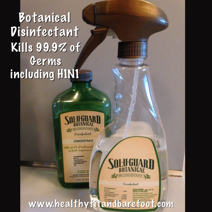 Non-Toxic Botanical Disinfectant | Healthy, Fit & Barefoot!
