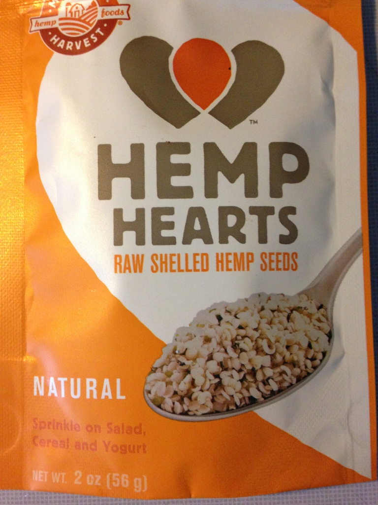 2 oz bag Hemp Hearts | Healthy, Fit and Barefoot!