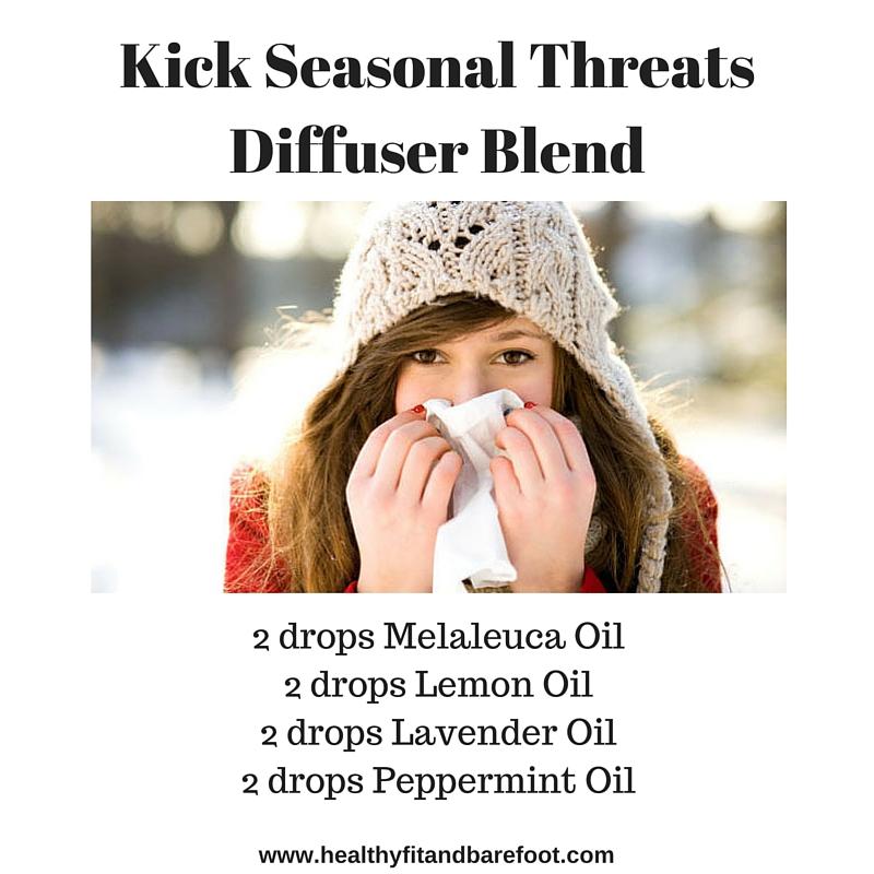 Kick Seasonal Threats Diffuser Blend | Healthy, Fit & Barefoot!