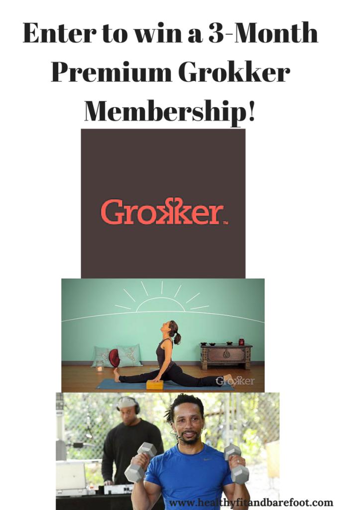 Grokker Premium Membership Giveaway! | Healthy, Fit & Barefoot!
