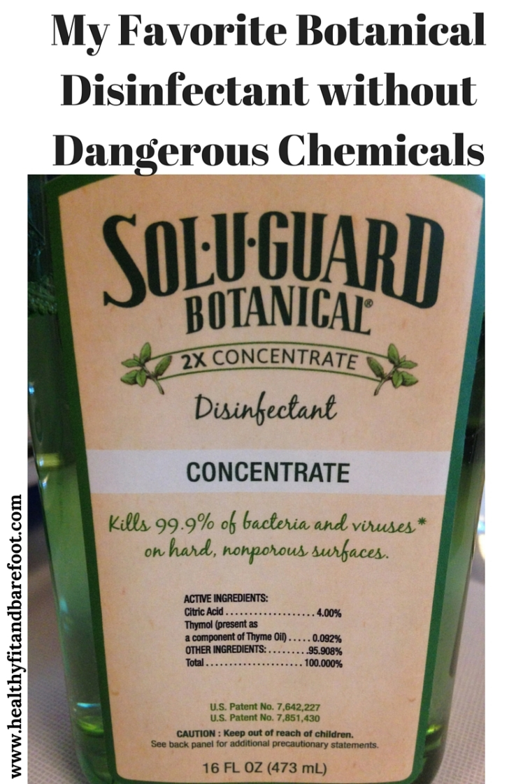 Sol-U-Guard Botanical Disinfectant | Healthy, Fit & Barefoot!