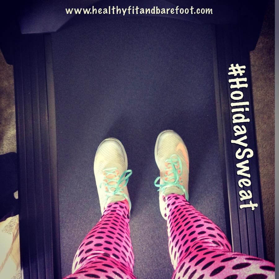 #HolidaySweat - What's Your Minutes Goal this Week? | Healthy, Fit and Barefoot!