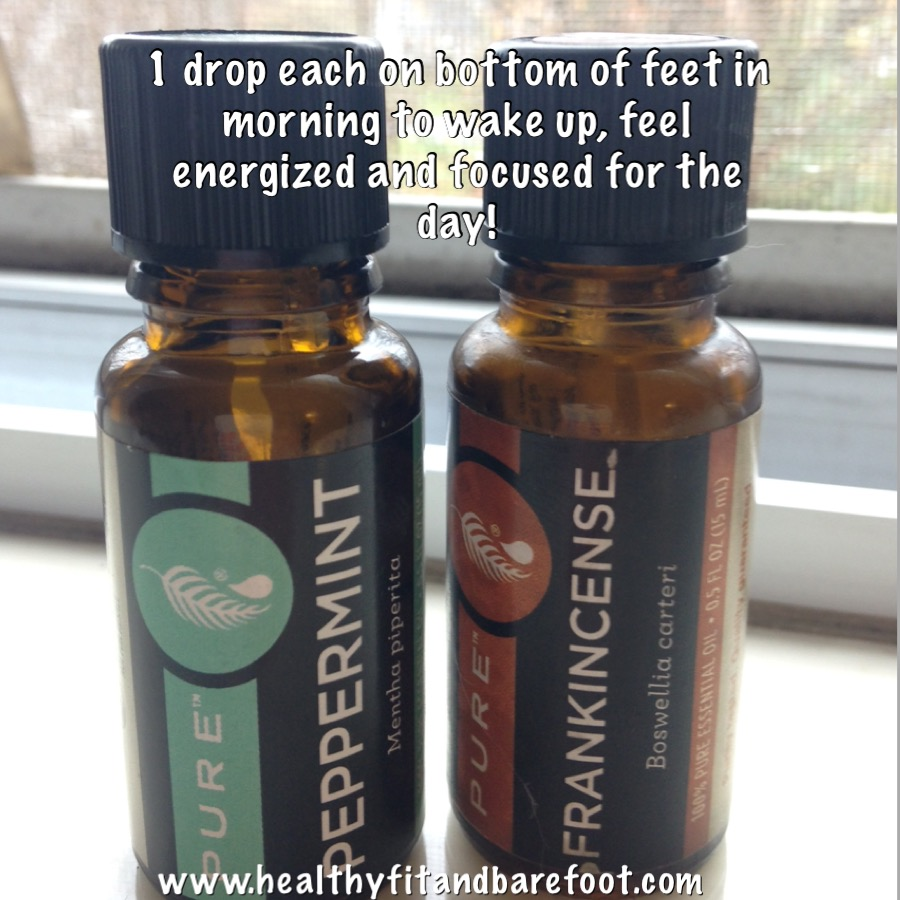 #TuesdayTip - Essential Oils to Wake Up, Feel Energized and Alert in the Morning | Healthy, Fit & Barefoot!