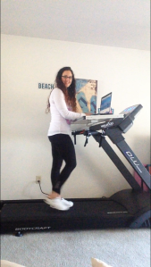 Fitneff Walktop Treadmill Desk | Healthy, Fit & Barefoot!