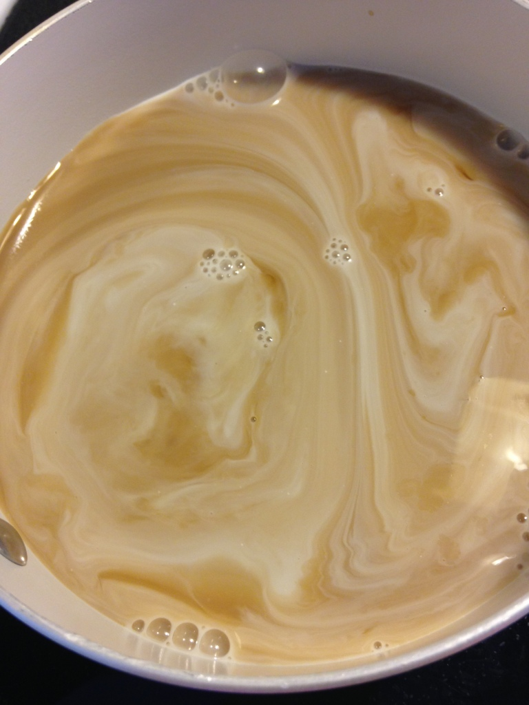 Almond Milk & Cold Brew Coffee