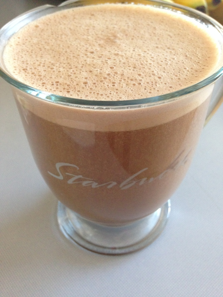 Homemade Dairy-Free Mocha Latte | Healthy, Fit & Barefoot!