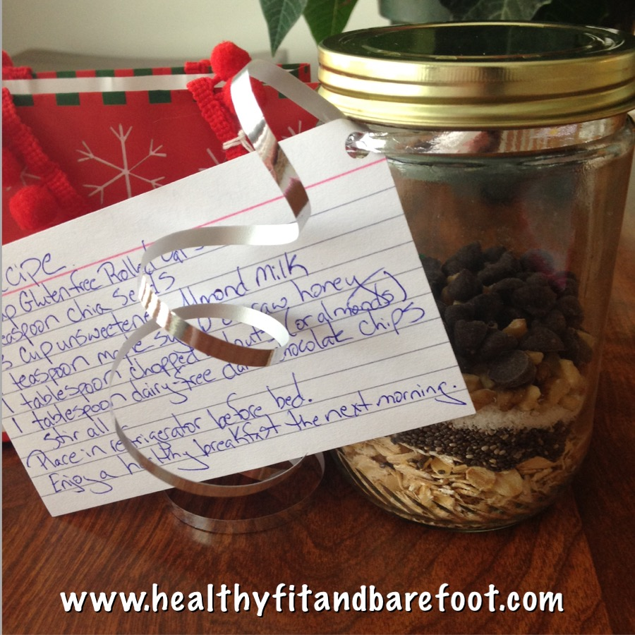 Overnight Oats Gift Idea | Healthy, Fit & Barefoot!