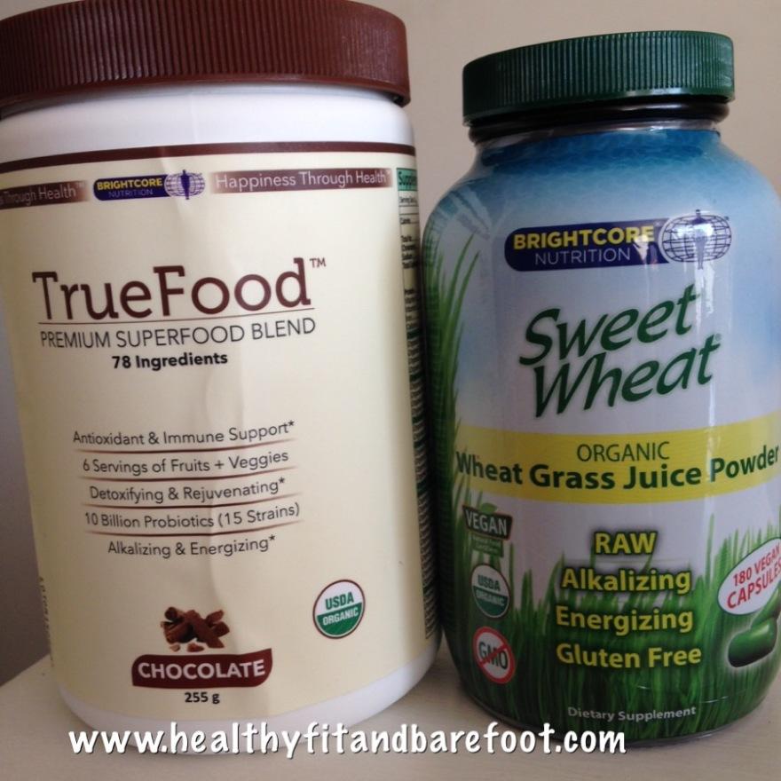 Brightcore Nutrition TrueFood & Sweet Wheat | Healthy, Fit & Barefoot!