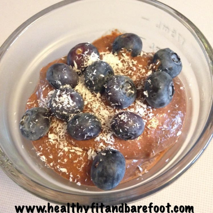 #FlavorfulFriday - Chocolate Chia Protein Pudding
