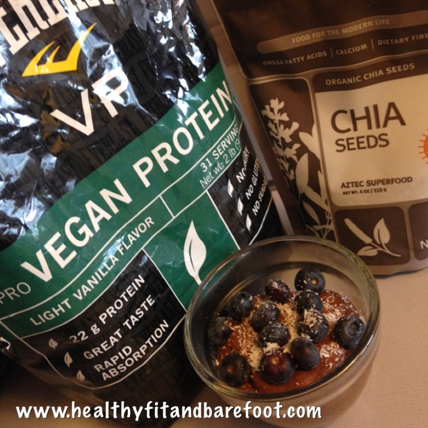 Chocolate Chia Protein Pudding | Healthy, Fit and Barefoot!