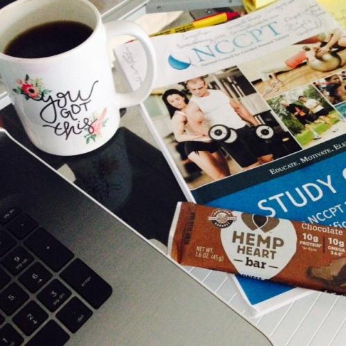 Chocolate Hemp Heart Bar & Coffee = Healthy Combo   Healthy, Fit & Barefoot!