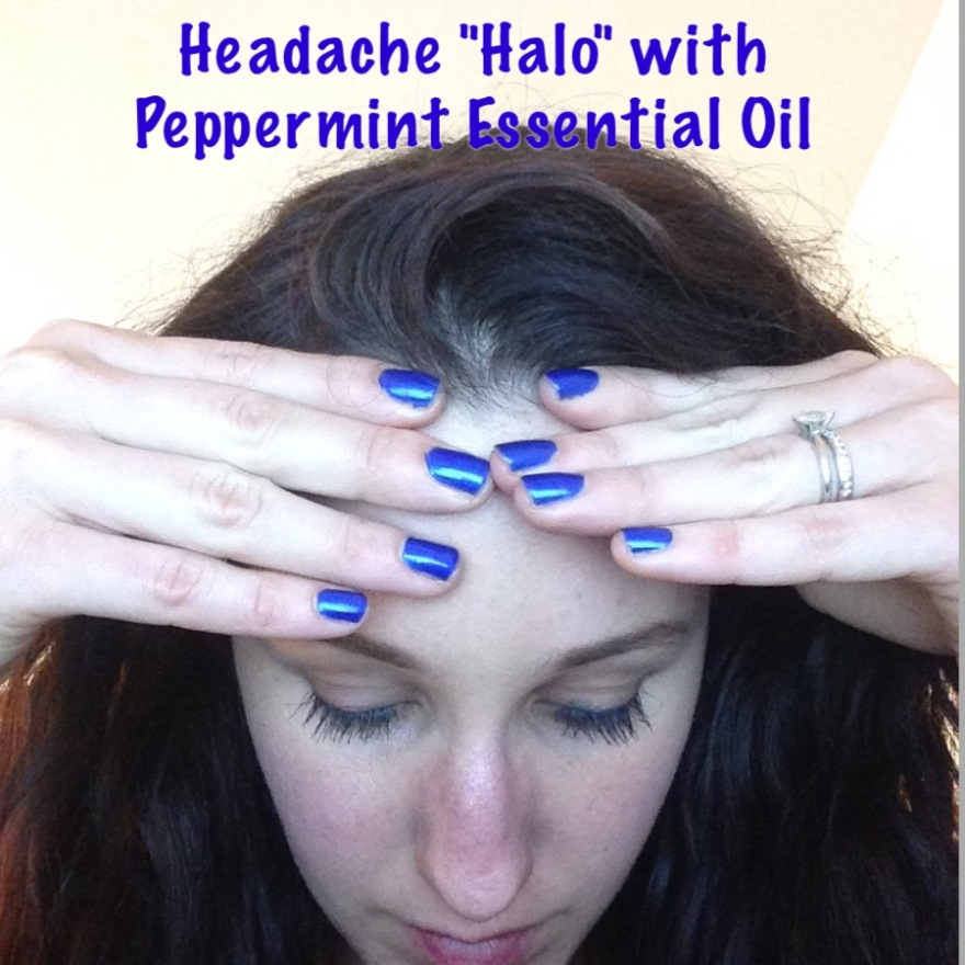 """Headache """"Halo"""" with Essential Oils 