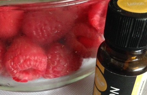 Lemon Essential Oil for Natural Produce Wash | Healthy, Fit & Barefoot!