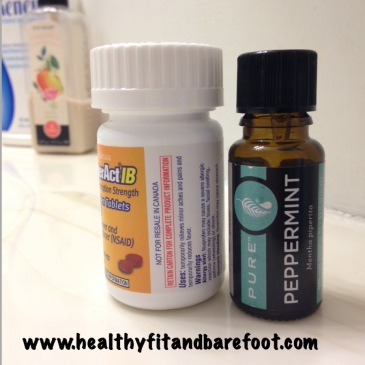 #TuesdayTip - Peppermint Essential Oil VS NSAIDs | Healthy, Fit & Barefoot!