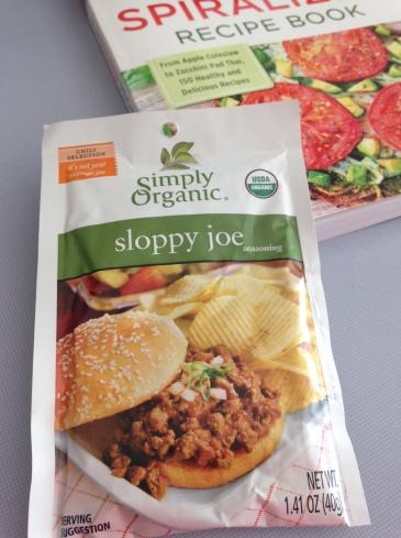 Sloppy Joe Nachos Recipe & The Spiralizer Recipe Book Review
