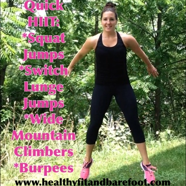Quick HIIT Workout | Healthy, Fit & Barefoot!