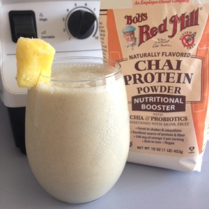 Pineapple Chai Protein Smoothie