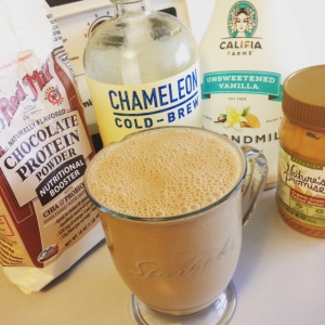 Chocolate Peanut Butter Mocha Smoothie