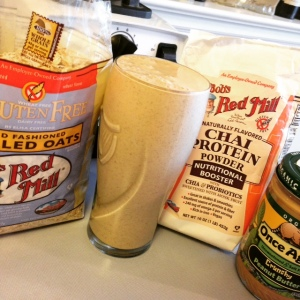 Peanut Butter Chai Oatmeal Smoothie