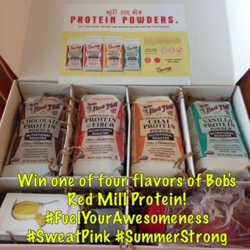 #FuelYourAwesomeness Protein Giveaway from Bob's Red Mill! #SummerStrong