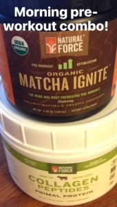 Raw Superfoods Pre-Workout Training Supplement from Natural Force