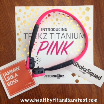 Trekz Titanium Pink Headphones Review | Healthy, Fit & Barefoot!