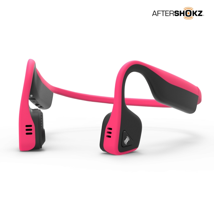 AfterShokz Pink Trekz Titanium Headphones | Healthy, Fit & Barefoot!