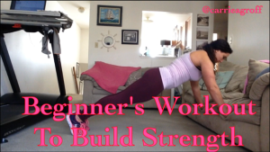 Beginner's Workout to Build Strength | Healthy, Fit & Barefoot!