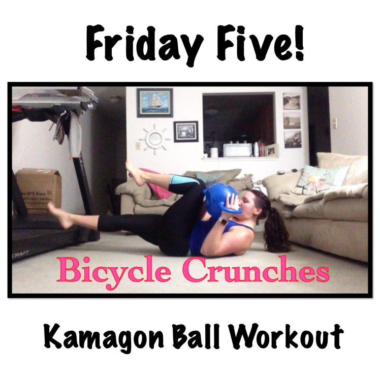 #FridayFive Kamagon Ball Strength Workout | Healthy, Fit & Barefoot!