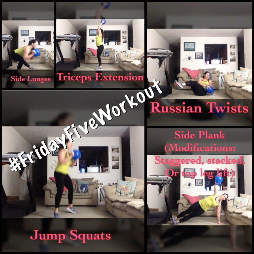 #FridayFiveWorkout - Total Body HIIT | Healthy, Fit & Barefoot!