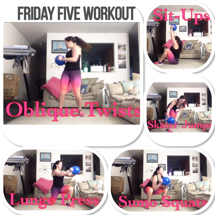 #FridayFiveWorkout - Kamagon Ball HIIT | Healthy, Fit & Barefoot!