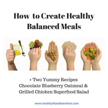 How to Create Healthy Balanced Meals | Healthy, Fit & Barefoot!