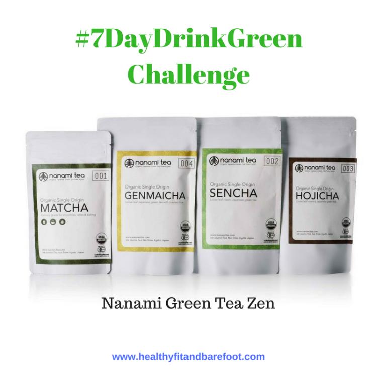 #7DayDrinkGreen Challenge | Healthy, Fit & Barefoot!