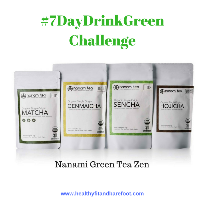 #7DayDrinkGreen Challenge | Healthy, Fit & Barefoot!