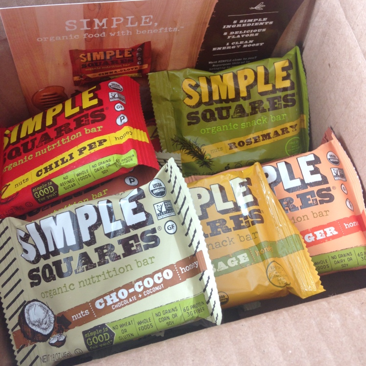 Simple Squares - Organic Nutrition Bars | Healthy, Fit & Barefoot!