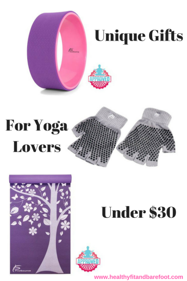 Unique Gifts for Yoga Lovers Under $30 | Healthy, Fit & Barefoot!