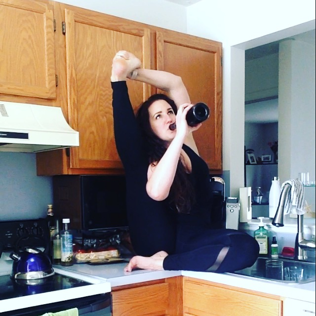 Yoga and Wine with Carrie A Groff | Healthy, Fit & Barefoot!